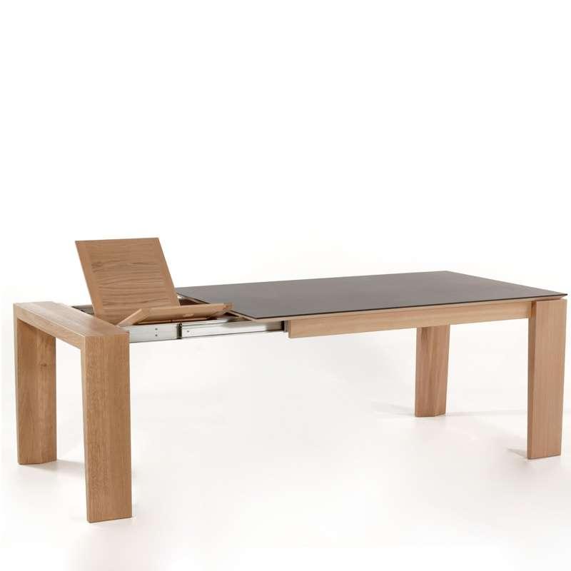 Table extensible en c ramique bakou 4 pieds tables for Table extensible en solde