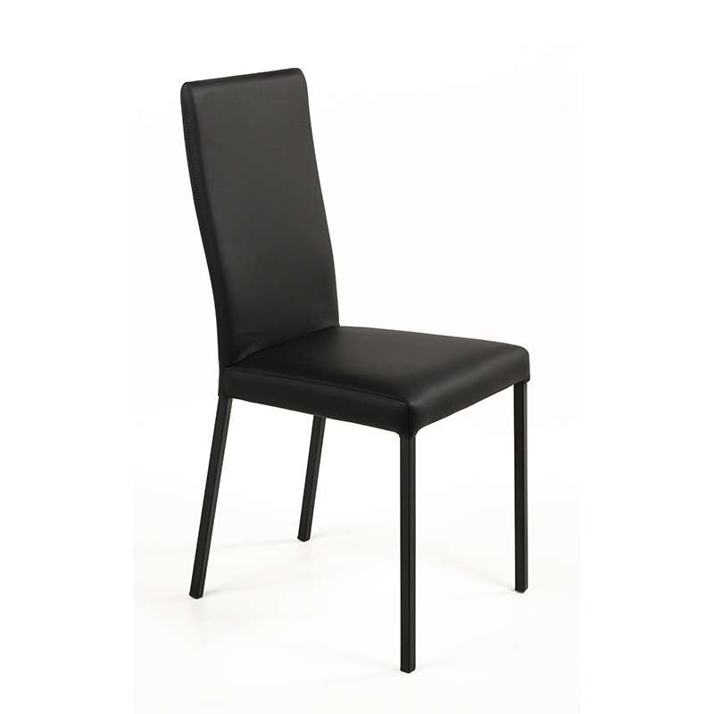 chaise contemporaine en vinyl garda 4 pieds tables. Black Bedroom Furniture Sets. Home Design Ideas