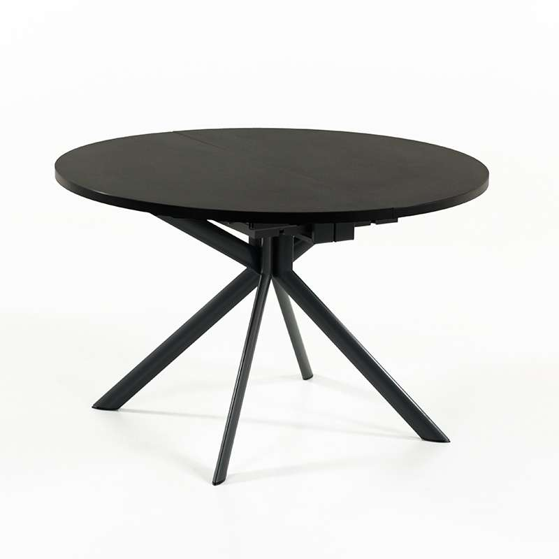 Table plateau ceramique extensible for Table ronde extensible magique
