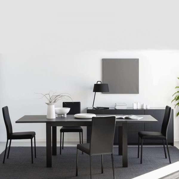 Chaise contemporaine en vinyl - Garda 21 - 21