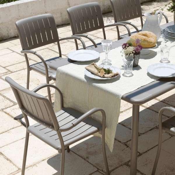 Table extensible de jardin - Maestrale 220 - 2