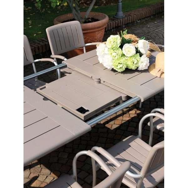 Table avec allonge pour jardin - Maestrale 220 - 4