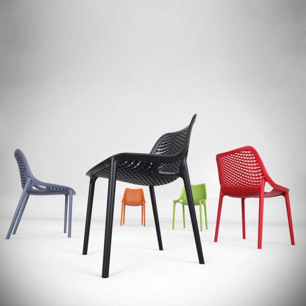 Chaise de jardin moderne ajourée - Air - 4