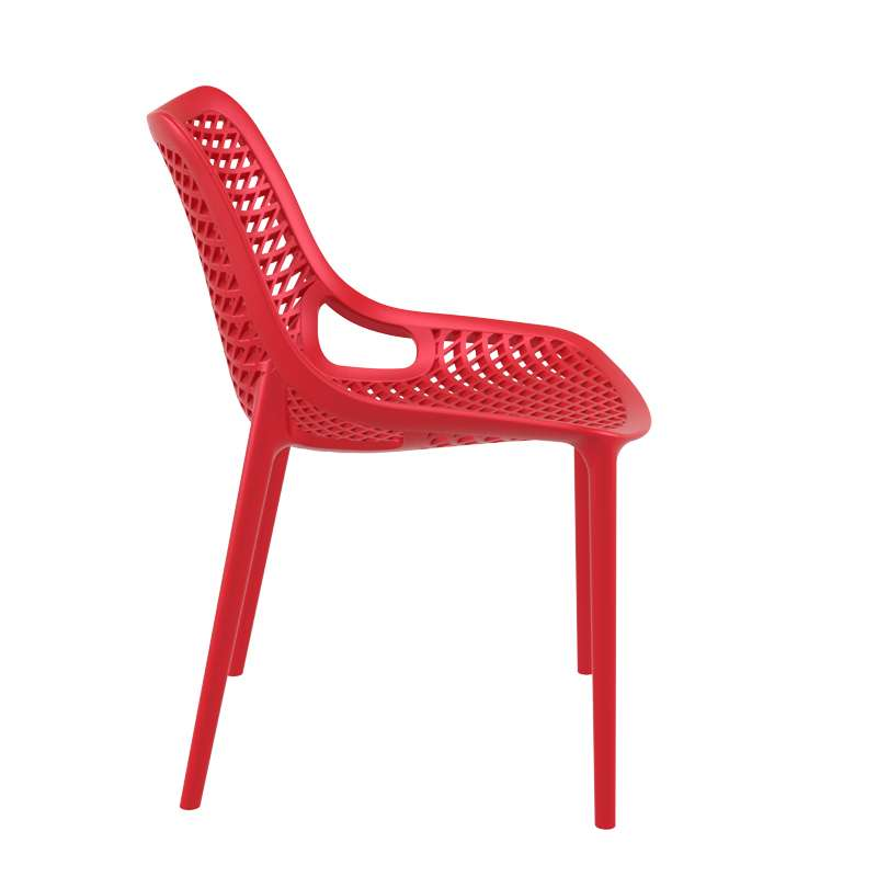 Chaise de jardin moderne ajour e en polypropyl ne air for Achat design