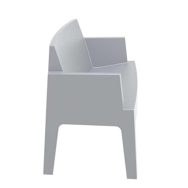 Banquette de jardin en plastique silver - Box Sofa - 13