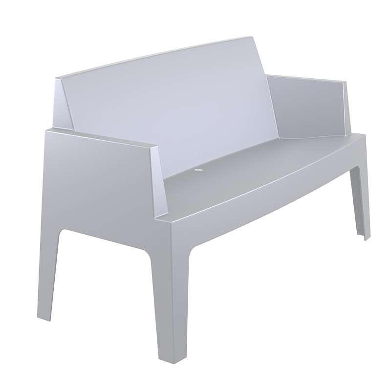 salon de jardin en polypropyl ne box 4 pieds tables chaises et tabourets. Black Bedroom Furniture Sets. Home Design Ideas