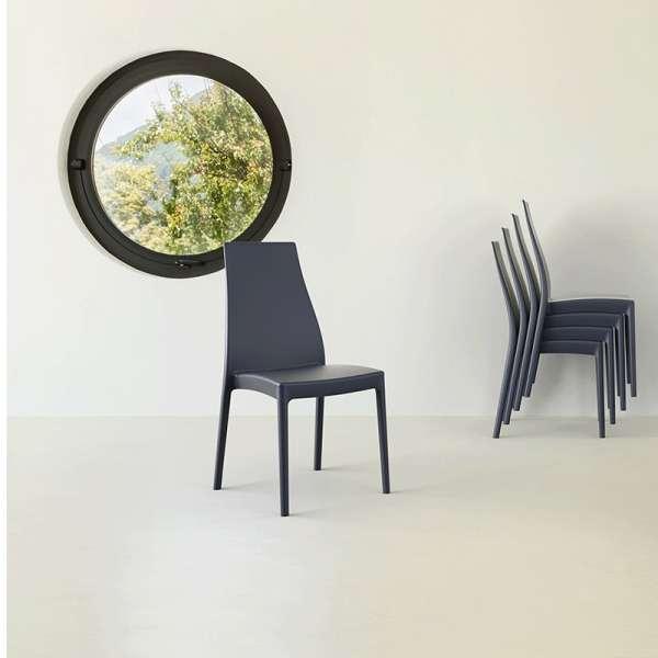 Chaise de jardin en polypropylène - Miranda 2 - 13