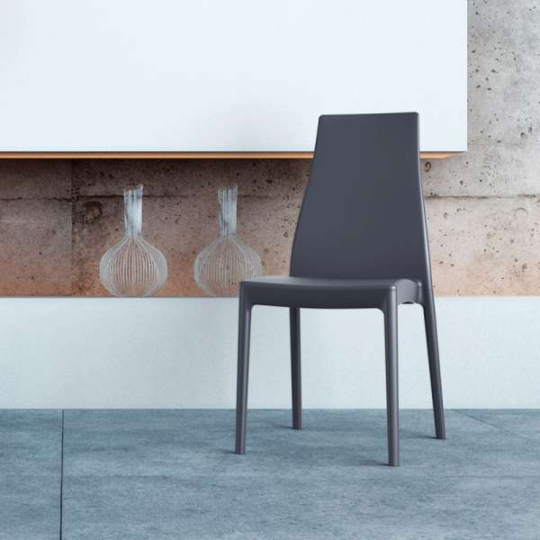 Chaise de jardin en polypropylène - Miranda 1 - 12