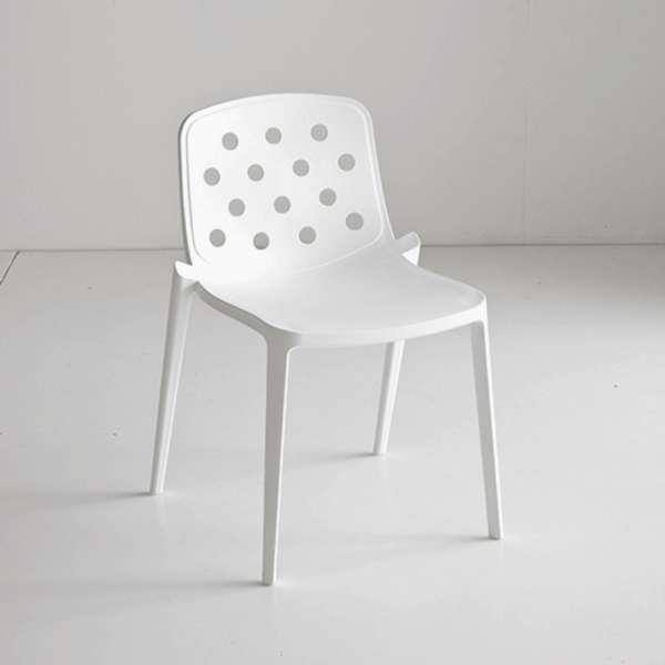 Chaise d'extérieur moderne en technopolymère - Isidora