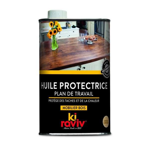 Entretien huile protectrice plan de travail