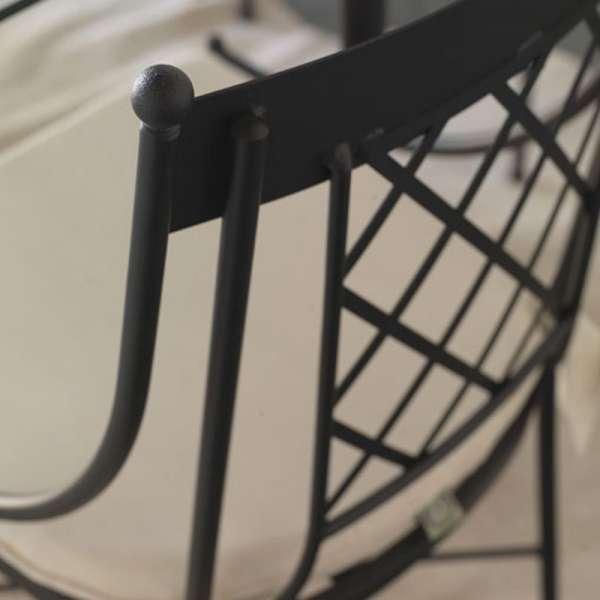 Chaise en métal - Marsella - 2