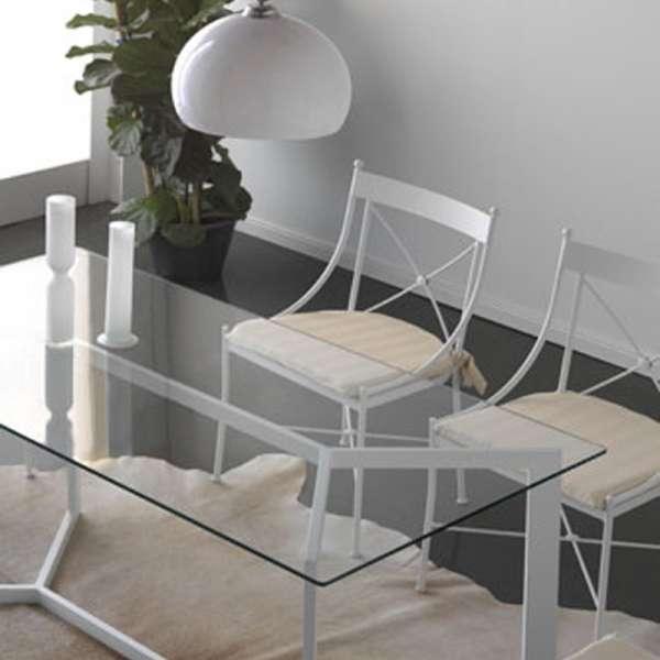 Chaise contemporaine en fer forgé - Paris - 1