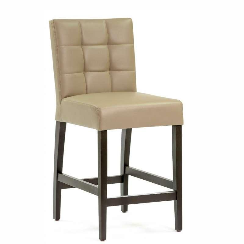 tabouret snack en vinyl et bois matias 2 4 pieds tables chaises et tabourets. Black Bedroom Furniture Sets. Home Design Ideas