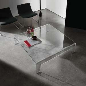 Table basse design carrée en verre - Frog Sovet®