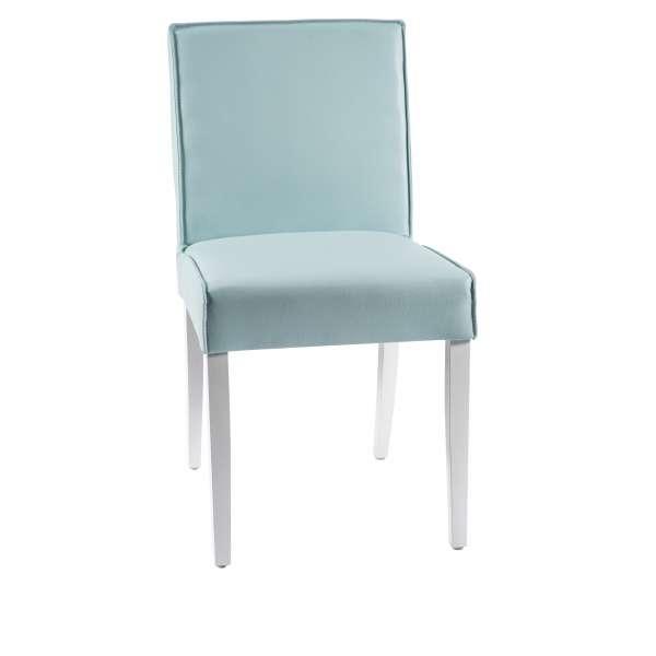 Chaise confortable en vinyle et bois - Carpe - 3