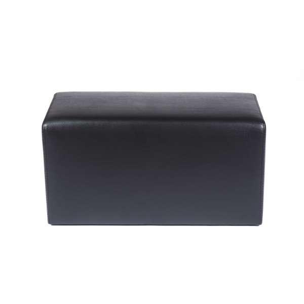 Pouf rectangulaire marron - Max Q78 - 7