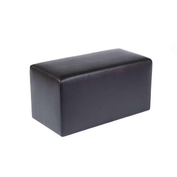 Pouf rectangulaire contemporain marron - Max Q78 - 9