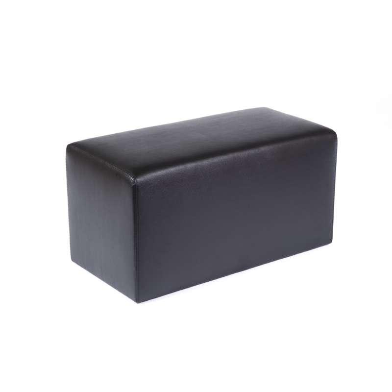 pouf rectangulaire en vinyl max q78 4 pieds tables chaises et tabourets. Black Bedroom Furniture Sets. Home Design Ideas