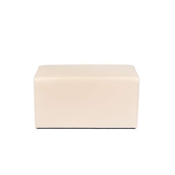 Pouf rectangulaire beige - Max Q78 - 13