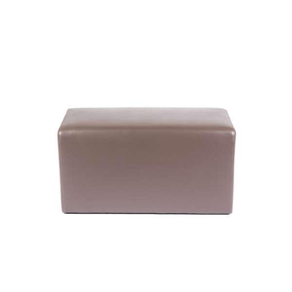 Pouf rectangulaire marron - Max Q78 - 16