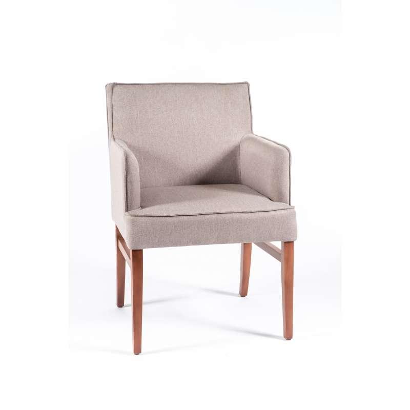fauteuil contemporain en tissu et bois diem 40 4 pieds tables chaises et tabourets. Black Bedroom Furniture Sets. Home Design Ideas