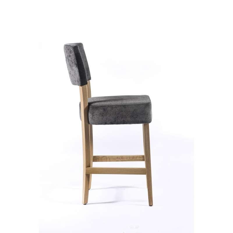 Tabouret Snack Bois - Tabouret snack en tissu et bois u2013 BarSteffi 4 Pieds tables, chaises et tabourets