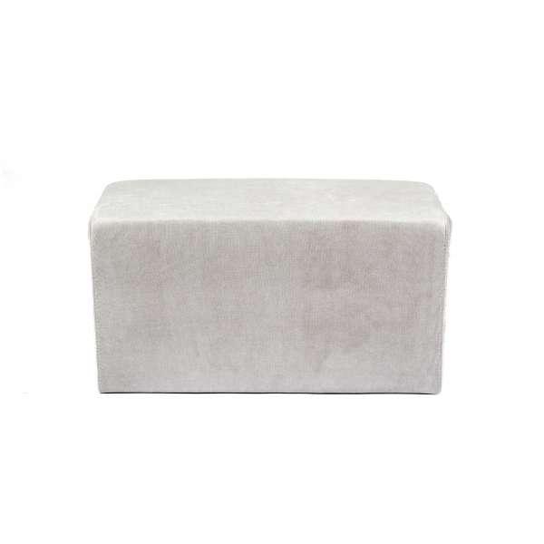 Pouf rectangulaire en tissu - Max Q78