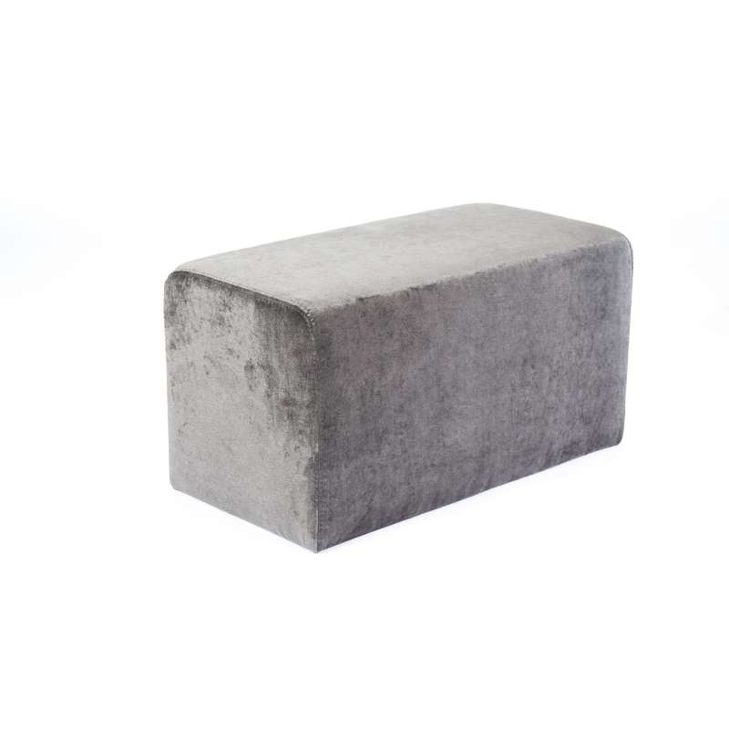 pouf rectangulaire en tissu max q78 4 pieds tables chaises et tabourets. Black Bedroom Furniture Sets. Home Design Ideas