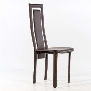 Chaise en cuir 4 pieds - Chaise de salle a manger cuir ...
