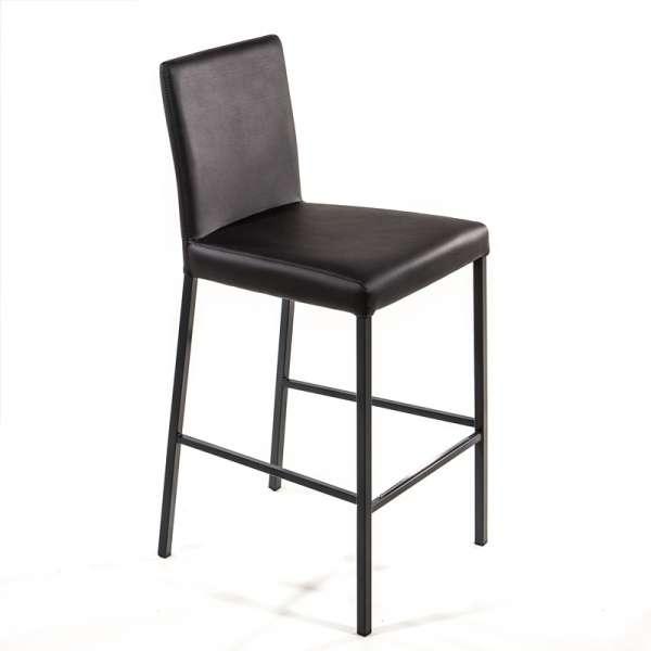 tabouret contemporain en vinyle garda 4 pieds tables chaises et tabourets. Black Bedroom Furniture Sets. Home Design Ideas