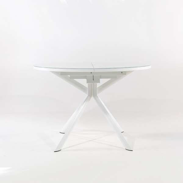 Table ronde extensible en verre - Giove - 3