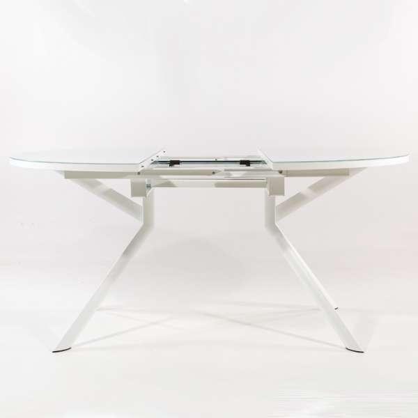 Table ronde en verre extensible - Giove - 5