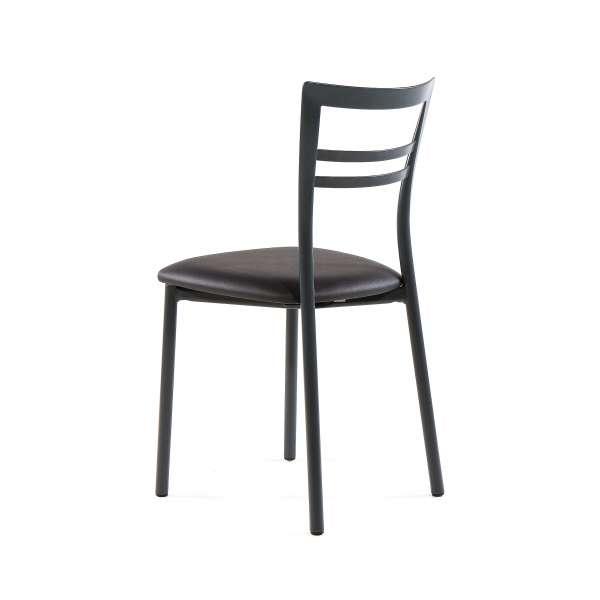 Chaise de cuisine rembourrée en métal - Go 6 - 14