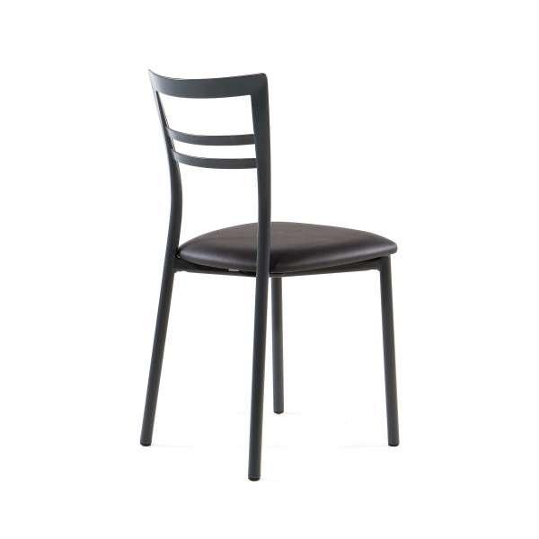 Chaise de cuisine rembourrée en métal - Go 7 - 15
