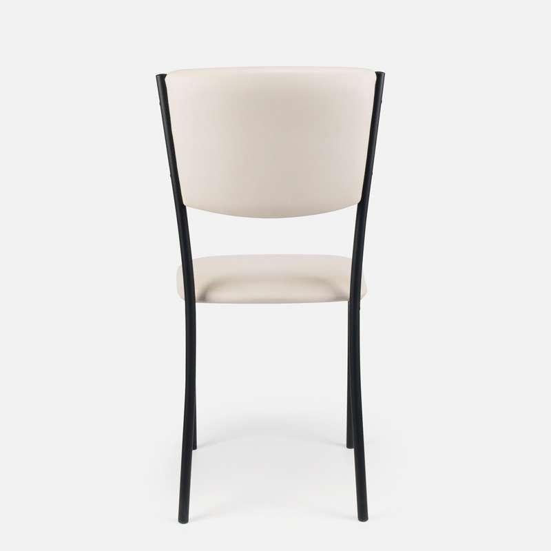 Cuisine Design Ouverte Sur Salon : Chaise de cuisine en métal et vinyle  Ruby  4 Pieds  tables
