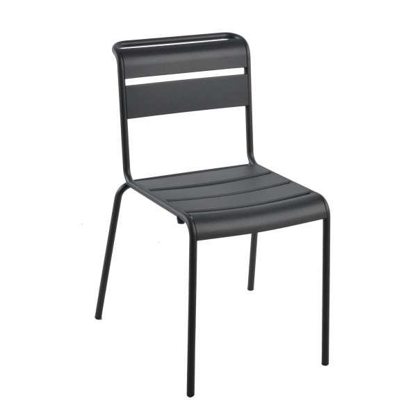 Chaise de jardin vintage en métal - Lutetia 2 - 2