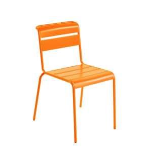 Chaise de jardin vintage en métal - Lutetia