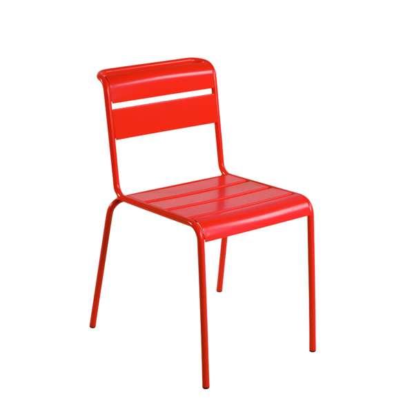 Chaise de jardin vintage en métal - Lutetia 8 - 6