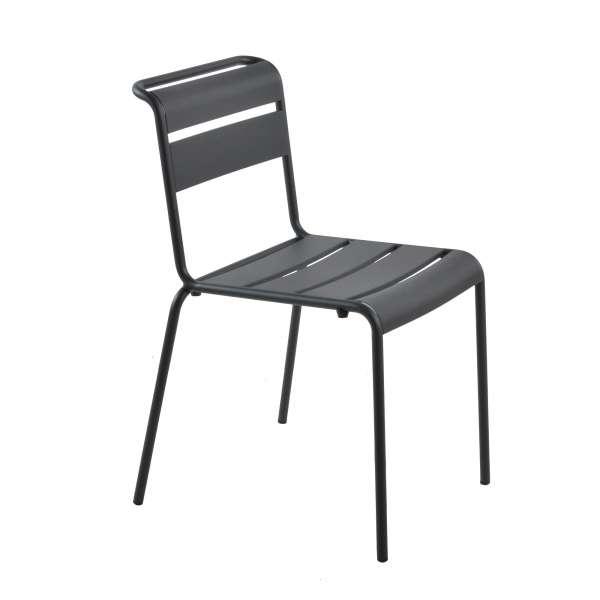 Chaise de jardin vintage en métal - Lutetia 11 - 9