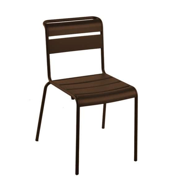 Chaise de jardin vintage en métal - Lutetia 13 - 11