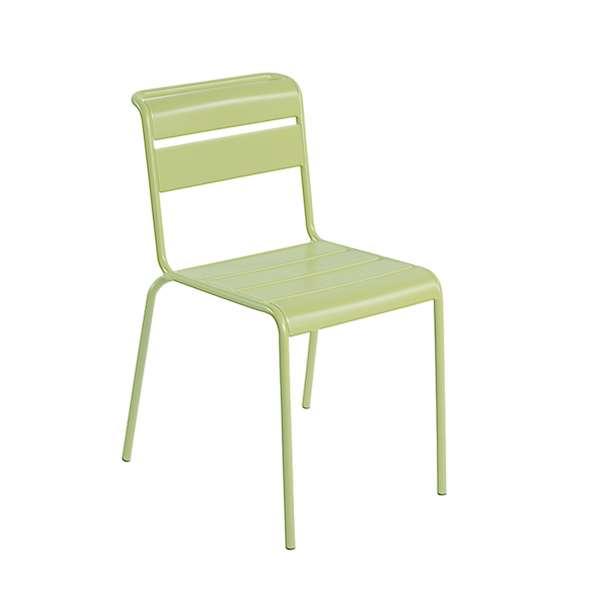Chaise de jardin vintage en métal - Lutetia 16 - 14