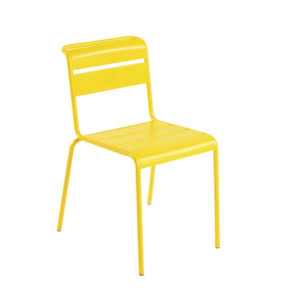 Chaise de jardin vintage en métal - Lutetia 20 - 18