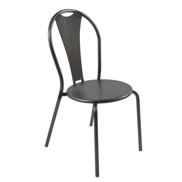 Chaise industrielle en métal - Atelier