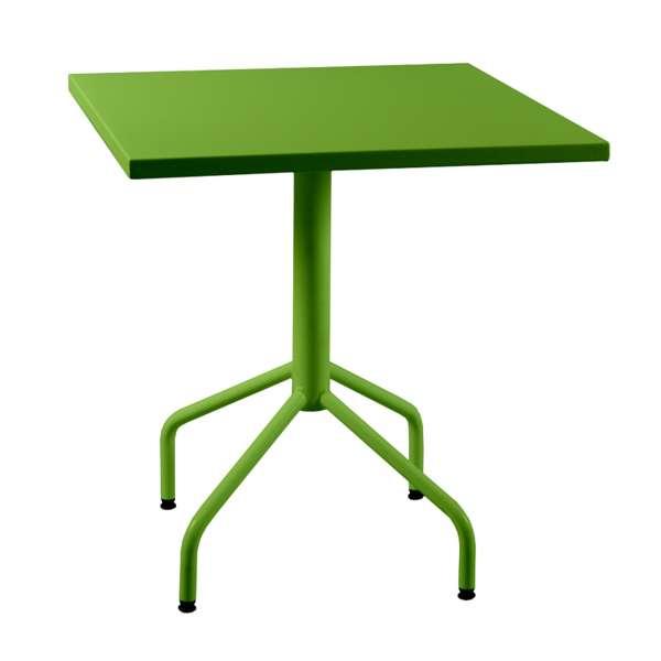 Table de jardin pliante en métal - Riviera 4 6 - 8