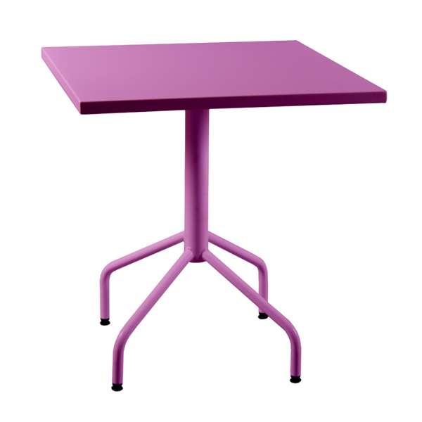 Table de jardin pliante en métal - Riviera 4 16 - 17