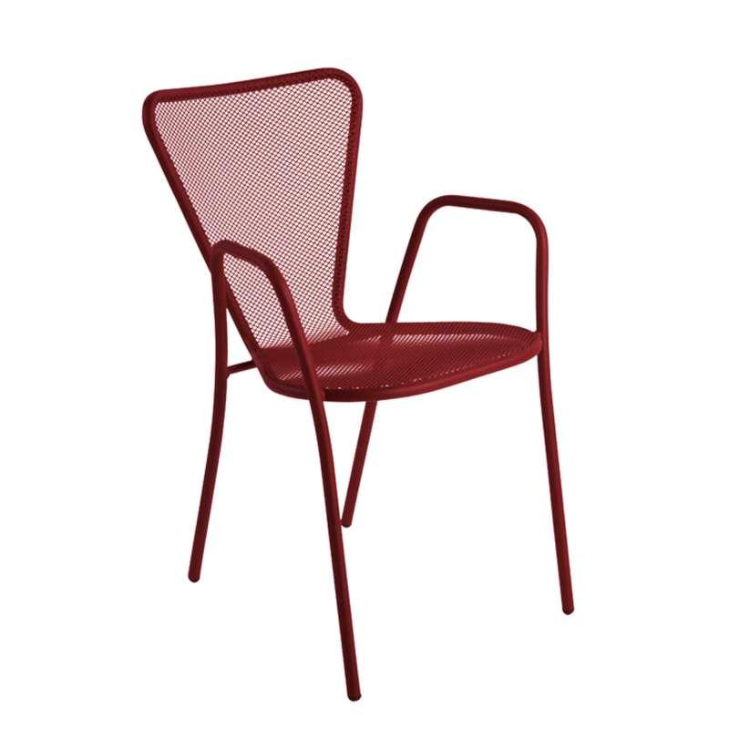 Fauteuil de jardin design en m tal sunset 4 pieds tables chaises et ta - Fauteuil de jardin aluminium ...