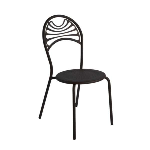 Chaise de jardin contemporaine en métal - Cabaret 4 - 4