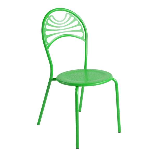 Chaise de jardin contemporaine en métal - Cabaret - 1