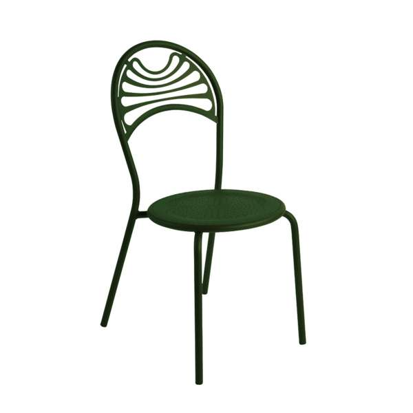 Chaise de jardin contemporaine en métal - Cabaret 8 - 8