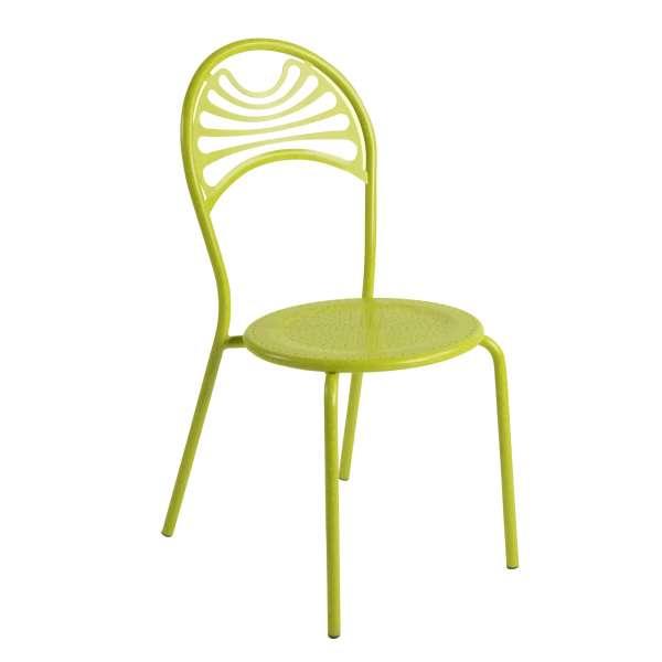 Chaise de jardin contemporaine en métal - Cabaret 15 - 15